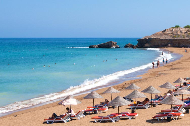 North Cyprus Is A Beach Lover S Paradise The Beaches In Northern Are One Of Best Attractions Island Coastlines