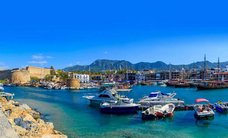Kyrenia Harbour, North Cyprus