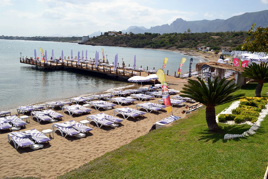 Escape Beach Club - Kyrenia, North Cyprus
