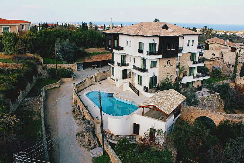 Kemerli konak boutique hotel kyrenia north cyprus for Boutique hotels cyprus